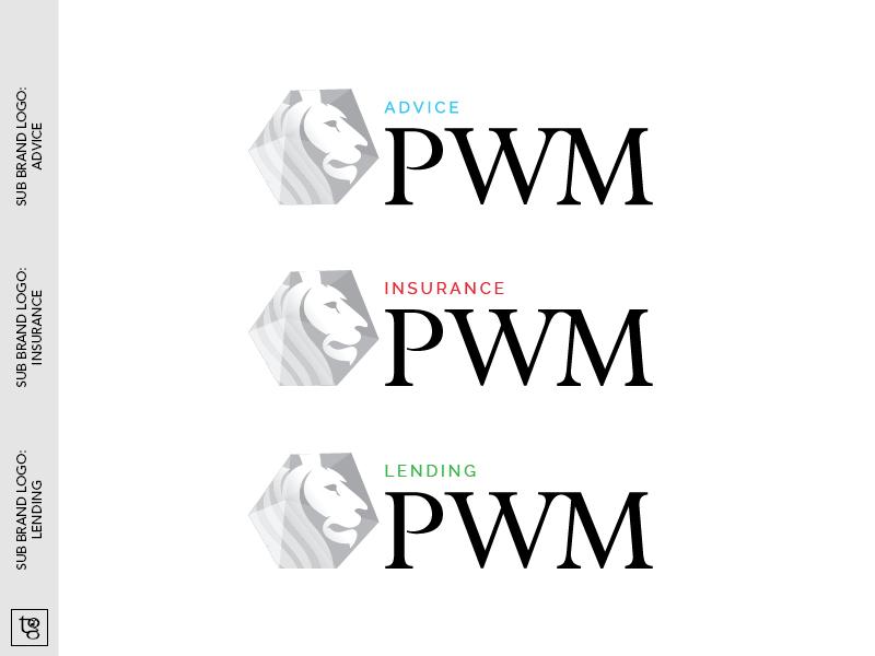 PWM sub-brand logos