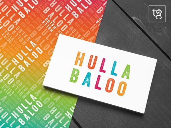 Hullabaloo PR logo design