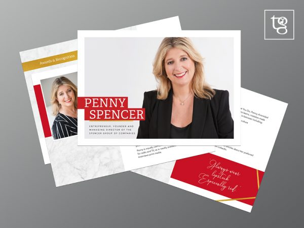 Media Kit for Penny Spencer