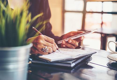 checklist notetaking