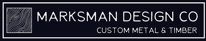 Marksman Design Co's old logo design