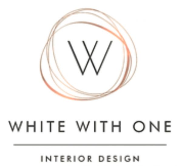 White with one - Old logo