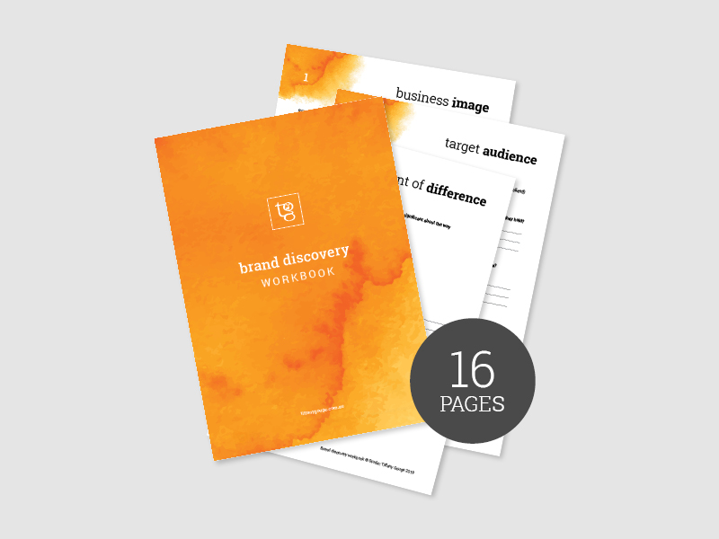 IMAGE: The Brand Discovery Workbook by Studio: Tiffany Gouge