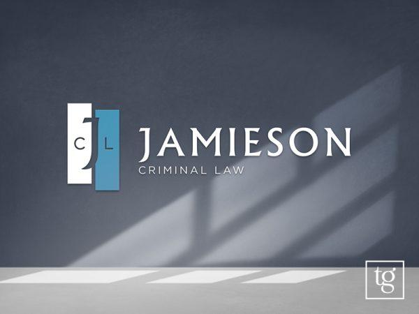 Jamieson Criminal Law logo design