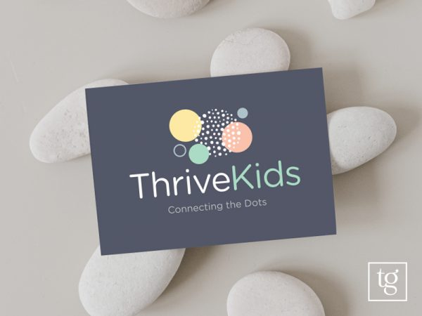 Thrive Kids logo design